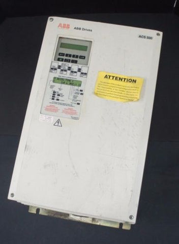 ABB ACS501-030-4-00P2 VARIABLE FREQUENCY DRIVE 40HP 3PH, ACS501030400P2