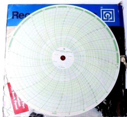 100 NIB GRAPHIC CONTROLS OP524 RECORDING CHARTS 04975911