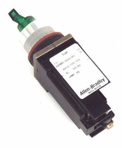 ALLEN BRADLEY 800MR-16HX2BS SELECTOR SWITCH SER D W/O CONTACT BLOCK