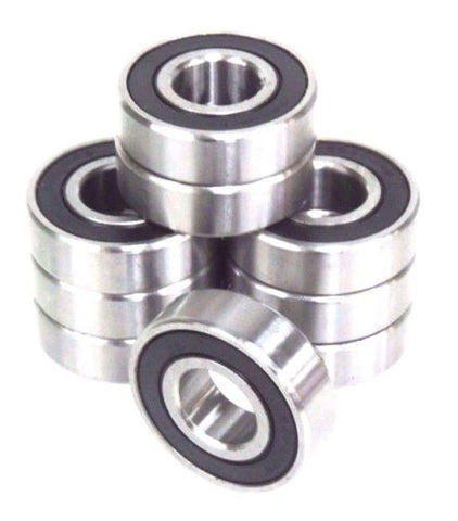9 NEW RBI INC. SS6204-2RS BALL BEARINGS 20MM X 47MM X 14MM, S6204-RS, SS62042RS