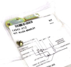 3 NEW ALLEN BRADLEY 1494V-H12 ACCESSORY DEFEATER BRACKET EXTENSION KITS SER. A