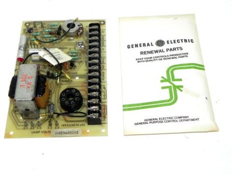 GENERAL ELECTRIC 3S7505KF124A1 PHOTOELECTRIC CONTROL BOARD