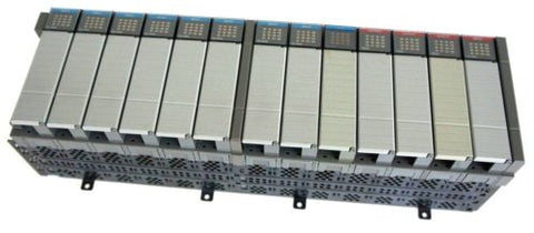ALLEN BRADLEY 1746-A13 SLOT RACK SER B 1746-IB16, 1746-OA16, 1746-IA16 MODULES