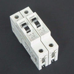 LOT OF 2 SIEMENS 5SX21-C40 MINIATURE CIRCUIT BREAKERS 5SX21C40, 5SX2