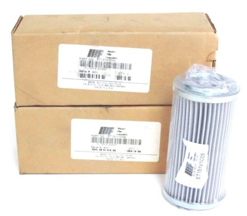 2 NIB WESTERN FILTER CORP. ET151V1C05 FILTER ELEMENTS
