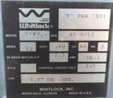 "AEC WHITLOCK VTP7.5 POWER UNIT, VTP-7.5 VT PWR UNIT 460V, 3 PHASE, 2.5"" OD CONN."