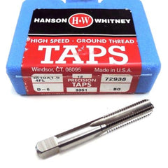 12 NIB HANSON WHITNEY M10X1.5 4 FL HIGH SPEED TAPS D-6, 72938