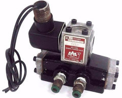 AAA S02 SOLENOID VALVE 120 VOLTS, 60HZ, 11 WATTS, 160 PSI