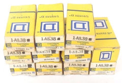 LOT OF 11 NIB SQUARE D A8.38 HEATER ELEMENTS A838