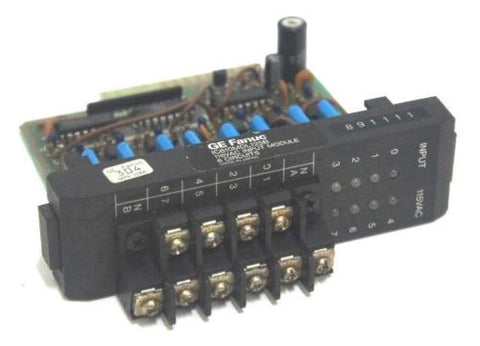 GE FANUC IC610MDL125B INPUT MODULE 115VAC 8POINT
