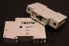 LOT OF 2 SIEMENS 5SX21-A4 MINIATURE CIRCUIT BREAKERS 5SX21A4, 5SX2104-5
