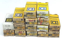LOT OF 15 NIB SQUARE D OVERLOAD RELAY THERMAL UNITS