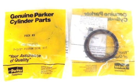 2 NIB PARKER PR252H0005 PACK MIX 2-1/2'' PISTON SEAL KITS