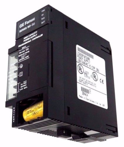 GE FANUC IC693PWR330B POWER SUPPLY 120/240VAC HI-CAP 30W