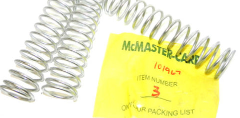 3 NEW MCMASTER 101967 SPRINGS