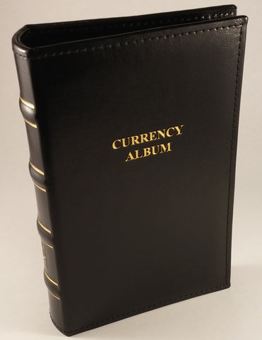 Small Currency Album in Classic Design