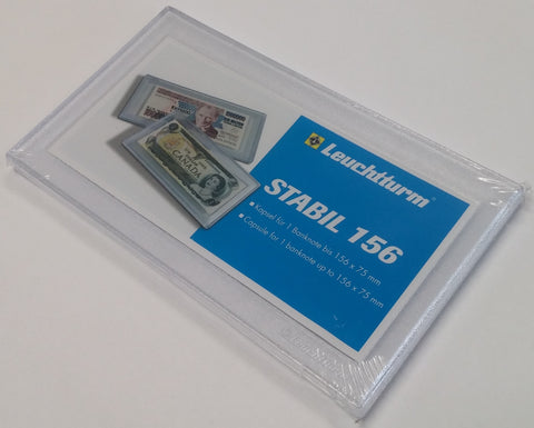 Stabil Clear Snaplock Currency Holders