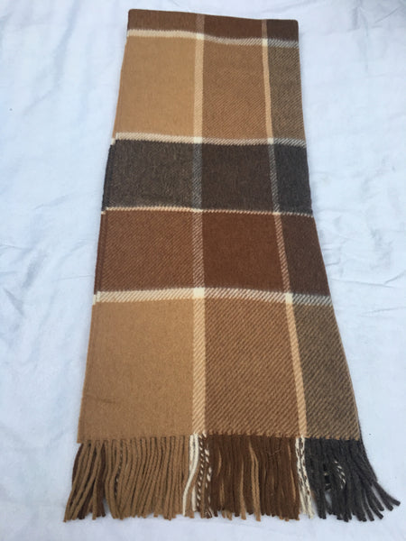 Alpaca/wool throw
