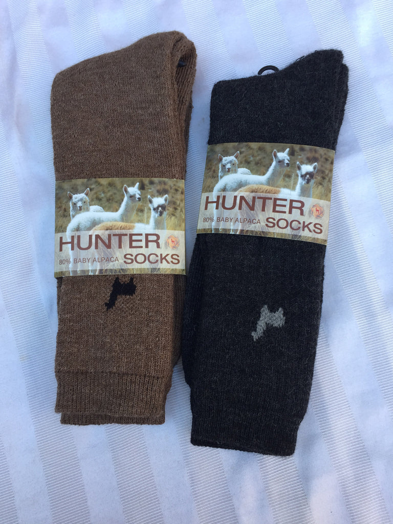 Socks, Hunter