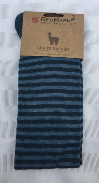 Alpaca Stripe Knee Sock