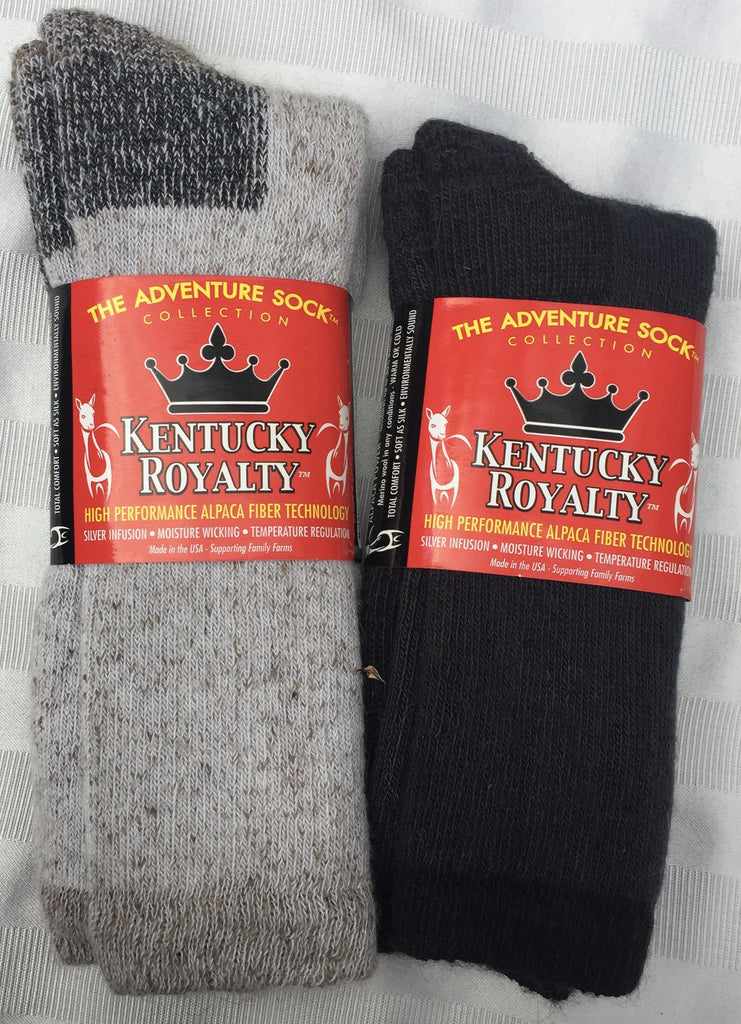 Socks, Kentucky Royalty Adventure Crew Heavy Weight Socks