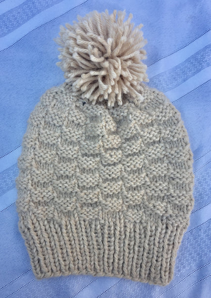 Hand Knitted Ski Hat