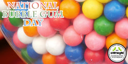 OverSoyed Fine Organic Products - National Bubble Gum Day