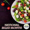 OverSoyed Fine Organic Products - National Salad Month