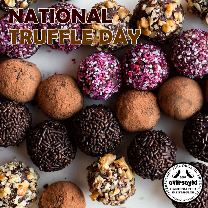 OverSoyed Fine Organic Products - National Truffle Day Collection