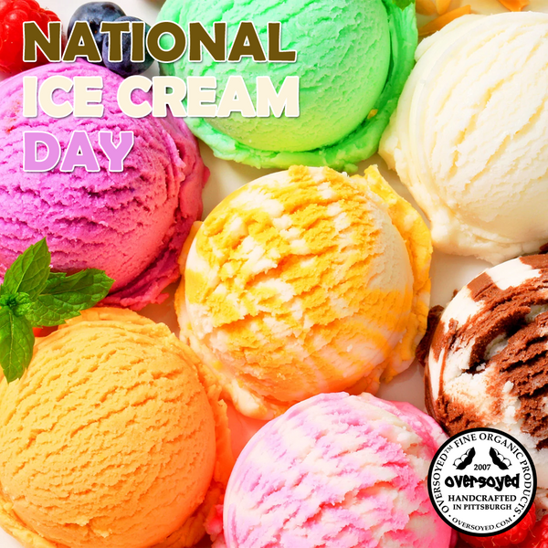 OverSoyed Fine Organic Products - National Ice Cream Cake Day