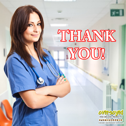 OverSoyed Fine Organic Products - Happy Certified Nurses Day
