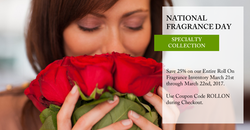 OverSoyed Fine Organic Products - National Fragrance Day Collection
