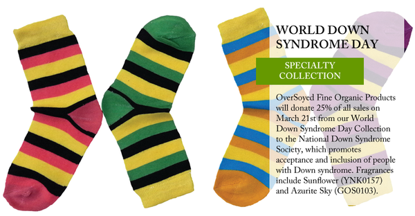 OverSoyed Fine Organic Products - World Down Syndrome Day Collection