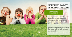 OverSoyed Fine Organic Products - Red Nose Day Collection