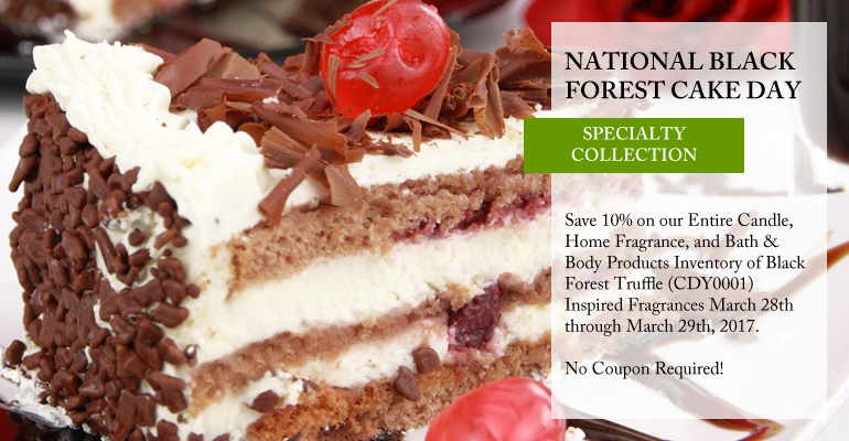 National Black Forest Cake Day - Save 10%