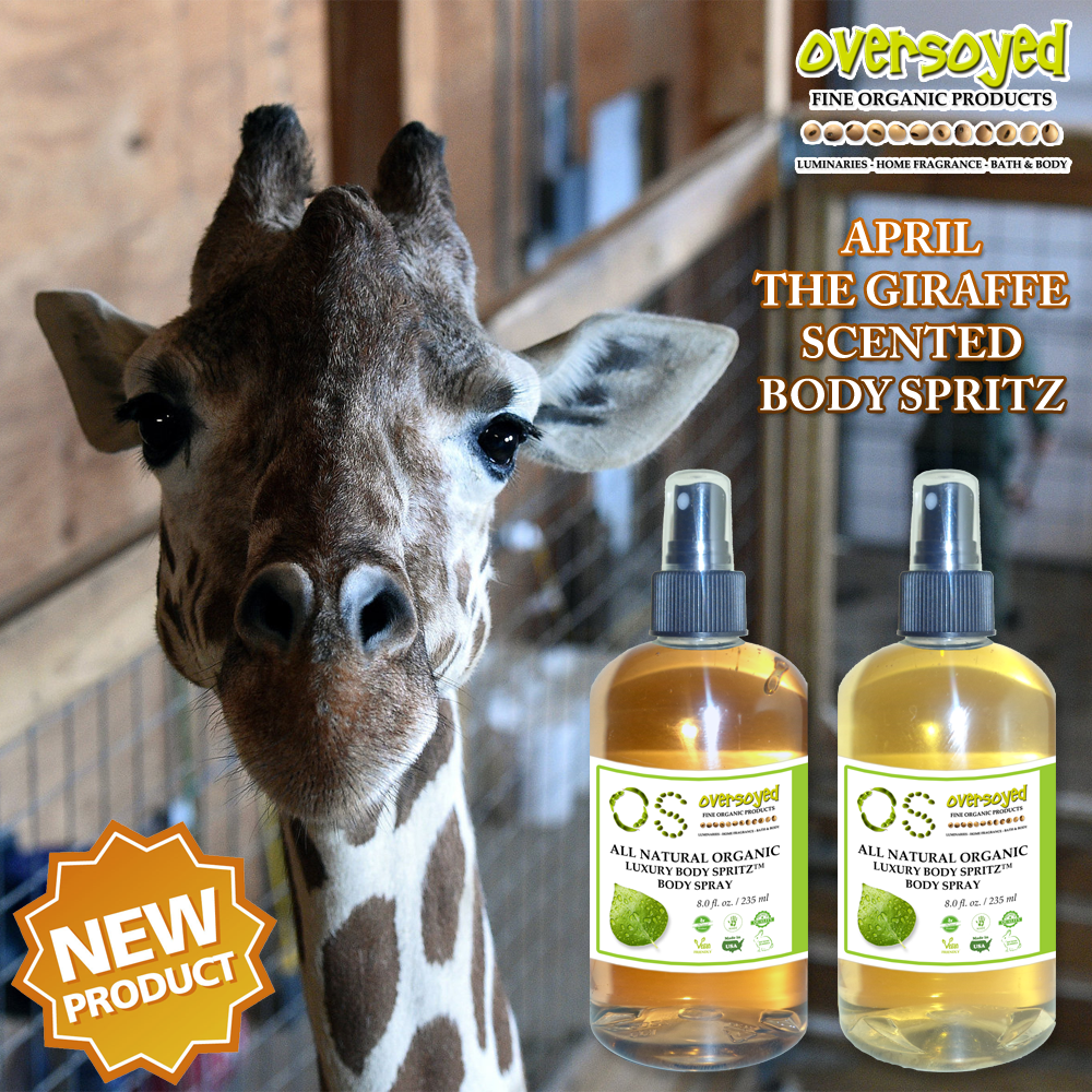 New Product - April The Giraffe Body Spray