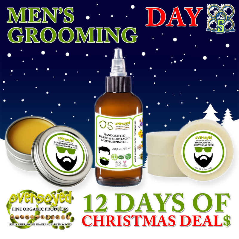 OverSoyed 12 Days of Deals - Men's Grooming