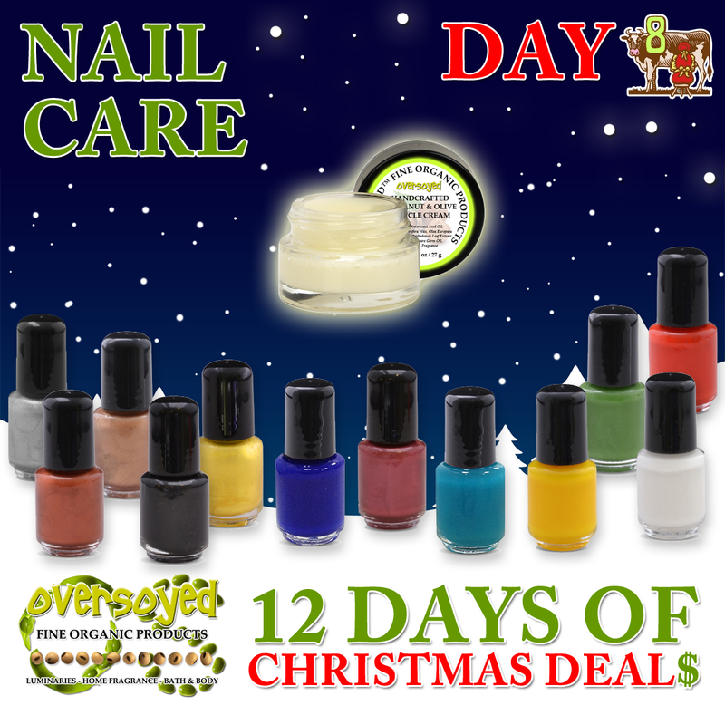 OverSoyed 12 Days of Deals - Nail Care
