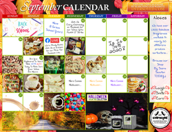 September 2020 Marketing Calendar