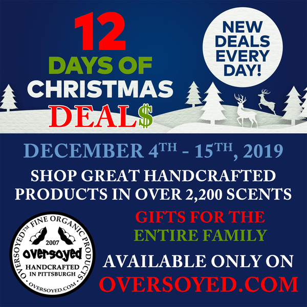 OverSoyed 12 Days of Christmas Deals
