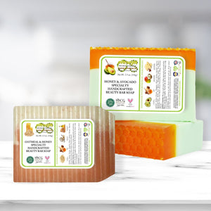 OverSoyed Fine Organic Products - Unscented Specialty Beauty Bar Soaps