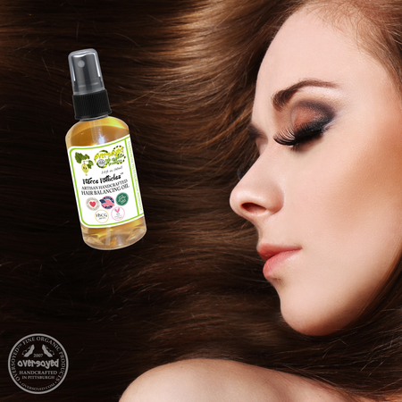 OverSoyed Fine Organic Products - Hair Balancing Oil