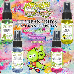 OverSoyed Lil Bean Kids Fragrance Sprays - Monster Repellent - Productivity - Courage & Bravery - Calming Rest