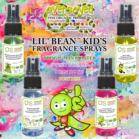 OverSoyed Lil' Bean™ Kids Fragrance Sprays - Scented Magic Spritz Collection