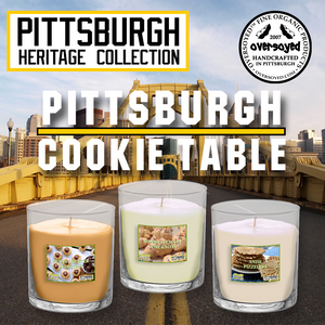 Hand Poured Soy Tumbler Candles - Pittsburgh Heritage Collection - Pittsburgh Cookie Table Series