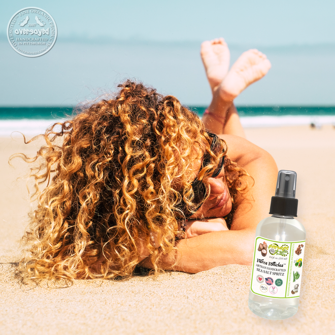 Fierce Follicles™ Beach Texturizing Sea Salt Hair Spritz