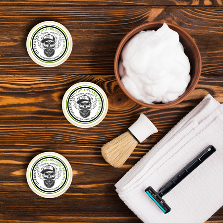 OverSoyed Fine Organic Products - Shave Soap Pucks