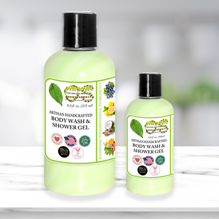 OverSoyed Fine Organic Products - Luxury Body Wash & Shower Gel