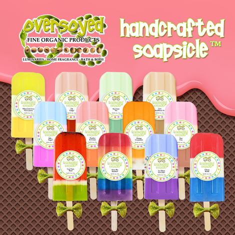 Handcrafted Soapsicle Popsicle Soaps