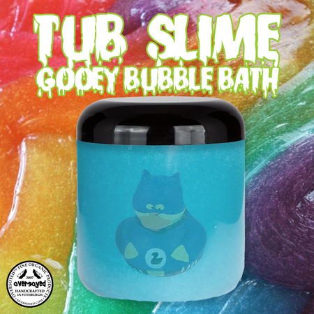 OverSoyed Fine Organic Products - Tub Slime Gooey Bubble Bath